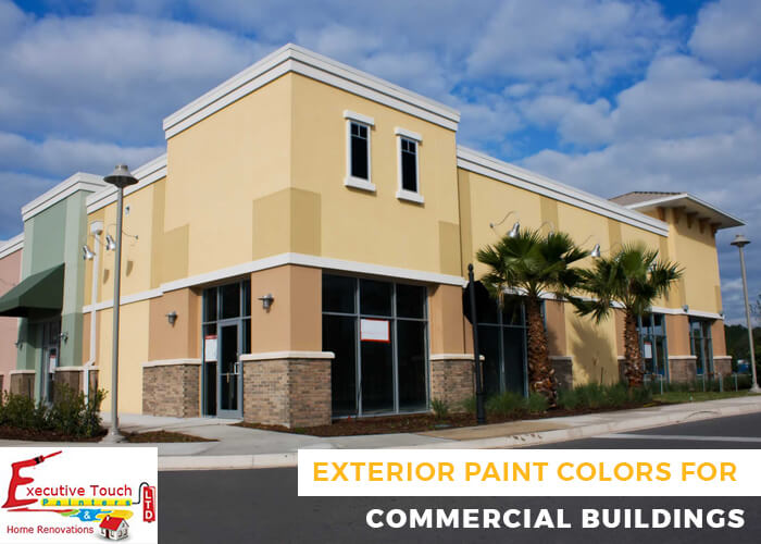 How To Choose Exterior Paint Colors For Commercial Buildings