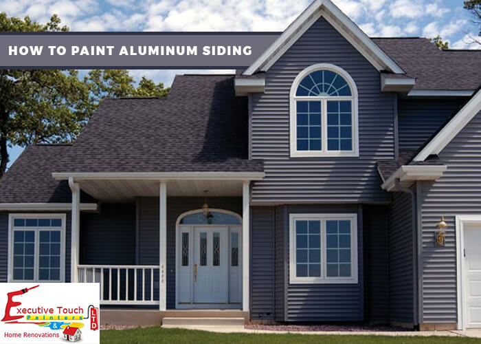 How To Paint Aluminum Siding Et Painters